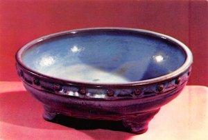 Drum shaped basin on three legs, Chun ware China, People's Republic of China ...