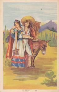 MEXICO; El Idilio, Donkey, 30-40s