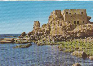 Israel Caesarea Ruins Of The Tower Of Herodes