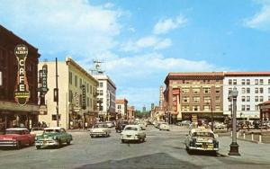 WY - Cheyenne. Capitol Avenue Looking North 1950's