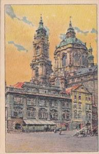 Czechoslovakia Praha Kostel sv Mikulase na Male Strane