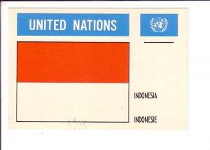 Indonesia, Flag, United Nations