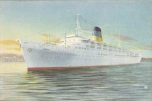 Greek Line Ocean Liner T.S.S. OLYMPIA , 30-40s