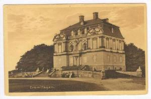 Showing The Eremitagen Palace, Denmark, 1900-10s