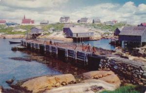 Peggys Cove NS, Nova Scotia, Canada - Color by Bureau of Information, Halifax
