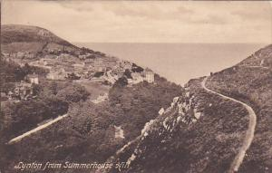 Lynton From Summerhouse Hill, Devon, England, UK, 1900-1910s