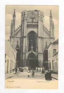 L´Eglise St. Joseph, Louvain , Belgium, 1900-10s