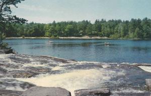 Scenic view,  Moon River,  Bala,  Muskoka, Ontario, Canada,  40-60s