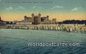 Montevideo Uruguay, South America Banos Playa Ramirez y Parque Hotel Montevid...