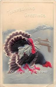 Thanksgiving Old Vintage Antique Postcard Post Card 1910