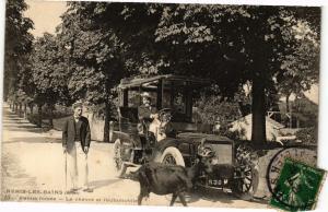 CPA NÉRIS-les-BAINS - Panne forcée La chevre et l'automobile (125536)