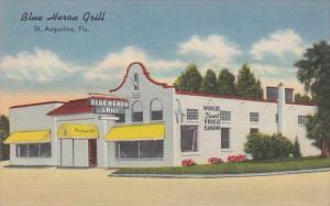 Florida St Augustine Blue Heron Grill Restaurant