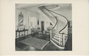 Montmorenci Circular Staircase Henry Francis Du Pont Winterthur Museum Postcard