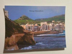 UNUSED PICTURE POSTCARD - GOZO MALTA  MENQA MARSALFORN (KK1858)