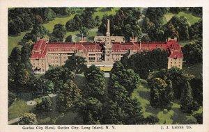 Garden City Hotel, Garden City,  Long Island, New York, Early Postcard, Unused