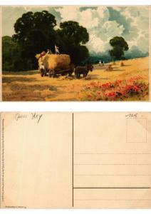 CPA Der Ernte Last und Freude Meissner & Buch Litho Serie 1522 (730566)