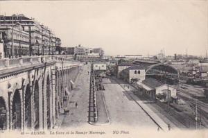 Algeria Alger La Gar et la Rampe Marengo