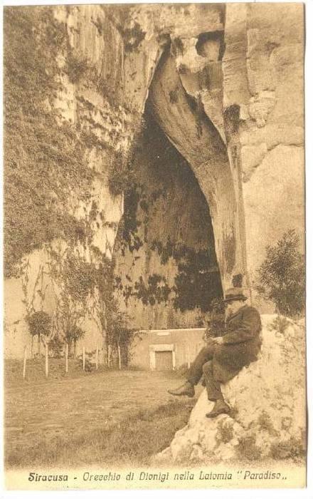 Orecchio Di Dionigi Nella Latomia Paradiso, Siracusa (Sicily), Italy, 1900-...