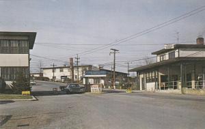 BAINBRIDGE , Maryland, 1950-60s ; Main gate , U.S. Naval Training Center