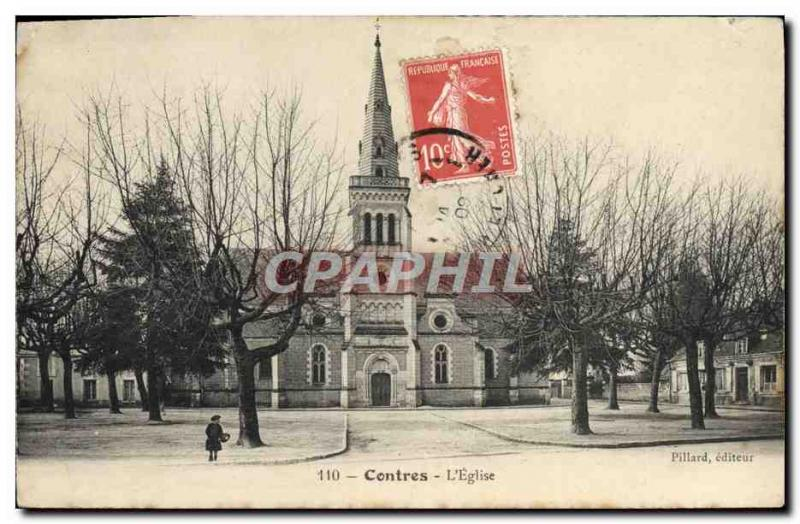 VINTAGE POSTCARD Counter the Church