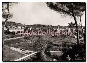 Modern Postcard La Colle Sur Loup Vue Generale And View On St. Paul