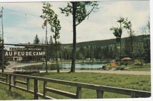 Camping Au Feu De Camp,  St. Malachie,  Dorchester,  Quebec,  Canada,  PU_1983