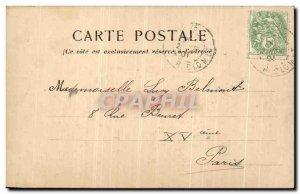 Old Postcard The Paris Arc de L Etoile