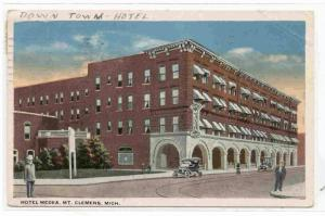 Hotel Medea, Mt. Cleamens, Michigan,  PU-00-10s