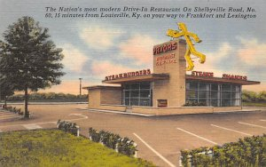 Priors drive-in restaurant Homemade pie and cake Louisville KY