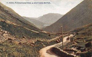 Kirkstone Pass Brothers Water Road Landscape Postcard
