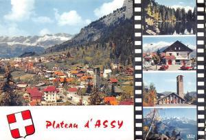 France Plateau d'Assy, Vue generale et Chaine des Aravis Lac Vert Mont Blanc