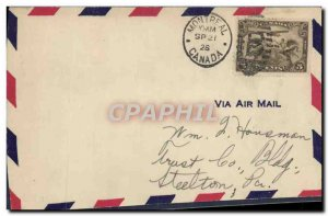 Letter FDC Canada Montreal February 21, 1932