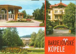 Slovakia, Bardejovske Kupele, unused Postcard