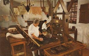 The Printing Office Willamsburg Virginia