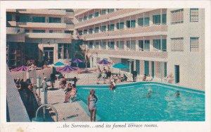 The Sorrento Hotel Pool Miami Beach Florida 1955