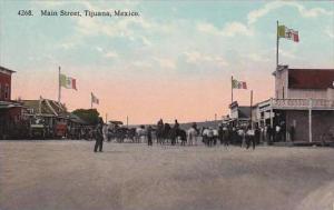 Mexico Tijuana Main Street