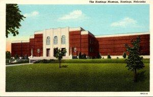 Nebraska Hastings The Hastings Museum Curteich