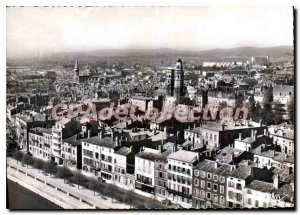 Modern Postcard Macon S and L Aerial View North neighborhood Old St Vincent a...