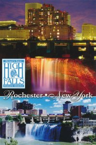 High Falls at Brown's Race Historical District - Rochester NY, New York
