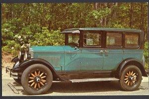 Classic Car Postcard 1927 BUICK Standard Six Four Door Sedan