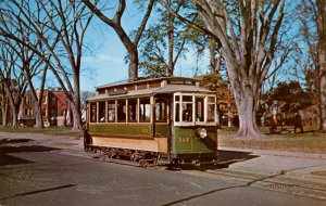 Trolley - Capital Traction Co #303, Washington, DC.  (audio visual series)
