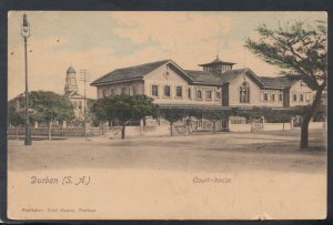 South Africa Postcard - Durban Court House    T2898
