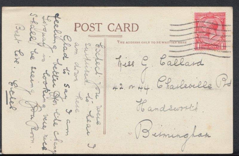 Genealogy Postcard- Callard - Charleville Road, Handsworth, Birmingham RF1263