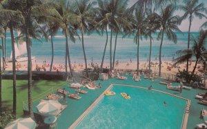 HONOLULU, Hawaii, 50-60s, Waikiki Outrigger Hotels