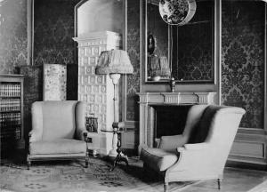Poland Lancut Zamek Kominek w Sypialni Meskiej, Castle Interior Chateau