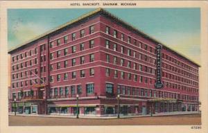 Michigan Saginaw Hotel Bancroft 1943