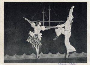 Rolf Alexander Joy Bolton Carter Sailors Fancy Ballet Old Postcard