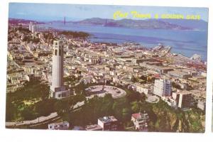 Coit Tower Golden Gate San Francisco California CA