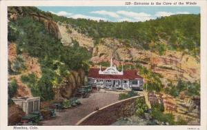 Colorado Manitou Entrance To Cave Of The Winds 1954