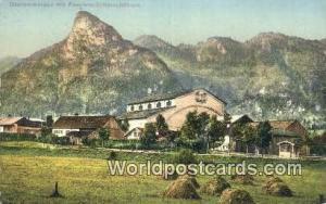 Oberammergau Germany, Deutschland Postcard Passions Schauspielhaus  Passions ...